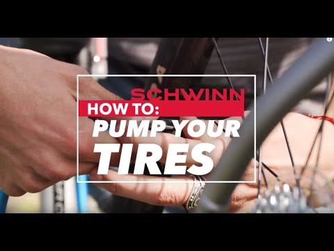 The Guide to Pumping Bicycle Tires | Schwinn Bicycles