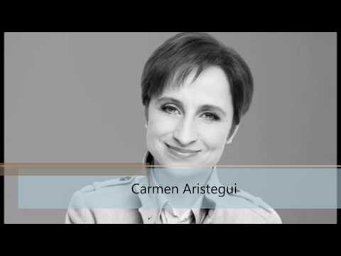 Carmen Aristegui habla de Daniel Ortega y Rosario Murillo