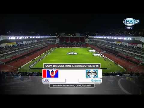 LDU 2 x 3 Grêmio - libertadores-13/04/2016