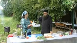 Кулинарное паломничество. От 30 июня. Кулинарный экспромт от игумена Серафима (Симонова)