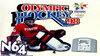 Olympic Hockey Nagano 98 - Nintendo 64 Review - HD