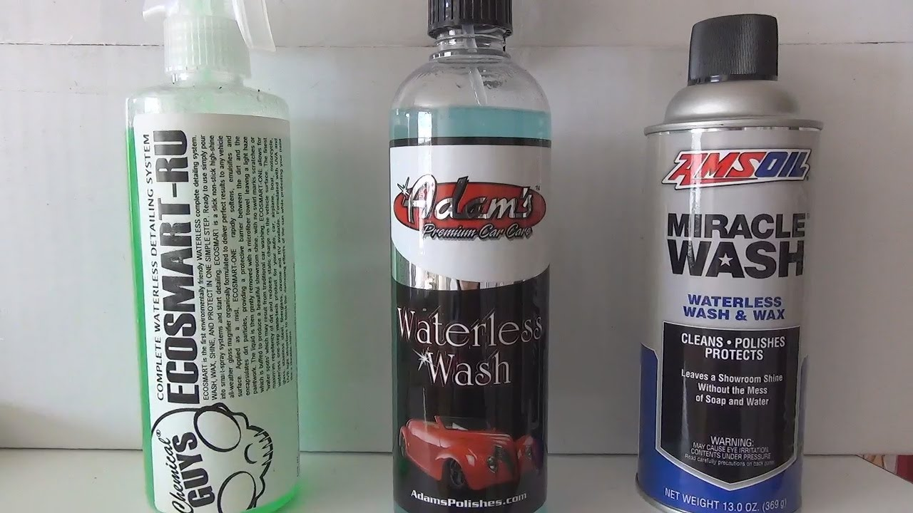 Waterless Car Wash Shootout Chemicals Guys Adam S Polishes And