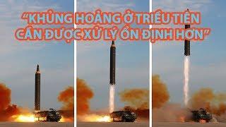 Tin nhanh Quốc tế 22.9: Tổng thống Hàn Quốc kêu gọi xử lý ổn định khủng hoảng Triều Tiên