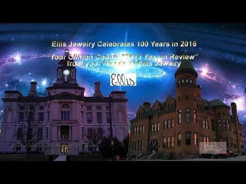 ClintonCountyDailyNews.com 2015 Year End Review Sponsor by Ellis Jewelers