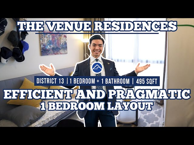 [SOLD!!!] The Venue Residences: Efficient and Pragmatic Layout 1 Bedroom at Potong Pasir