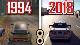 Need for Speed Evrimi 1994 - 2018