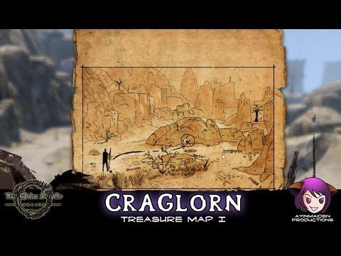 ☆ Elder Scrolls Online ☆ - Craglorn Treasure Map I - YouTube