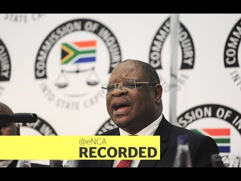 The Commission of Inquiry into state capture continues - eNCA