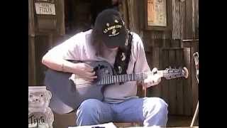 David Wayne at Luckenbach, Texas