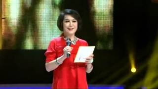 Miss Universe China Pageant 2012 Yue Sai Kan's Introduction Speech