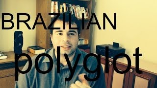 Brazilian Polyglot speaks five languages. Portuguese, English, French, Spanish and German.