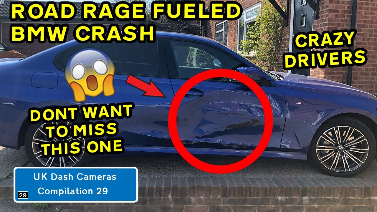 UK Dash Cameras - Compilation 29 - 2021 Bad Drivers, Crashes & Close Calls