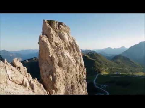 Klettersteig Däumling : Klettersteig däumling nassfeld pressegger see youtube