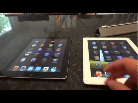 iPad 2 and iPad (3rd Generation with Retina Display): Comparison