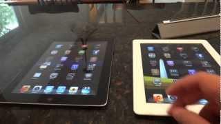 iPad 2 and iPad (3rd Generation with Retina Display): Comparison
