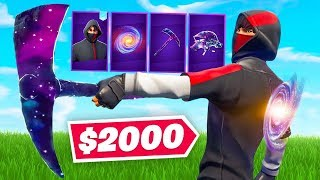The MOST EXPENSIVE ($2000+) Loadout In Fortnite!