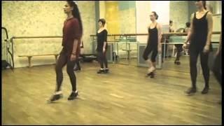 Комбинации ирландского танца.  Жёсткие