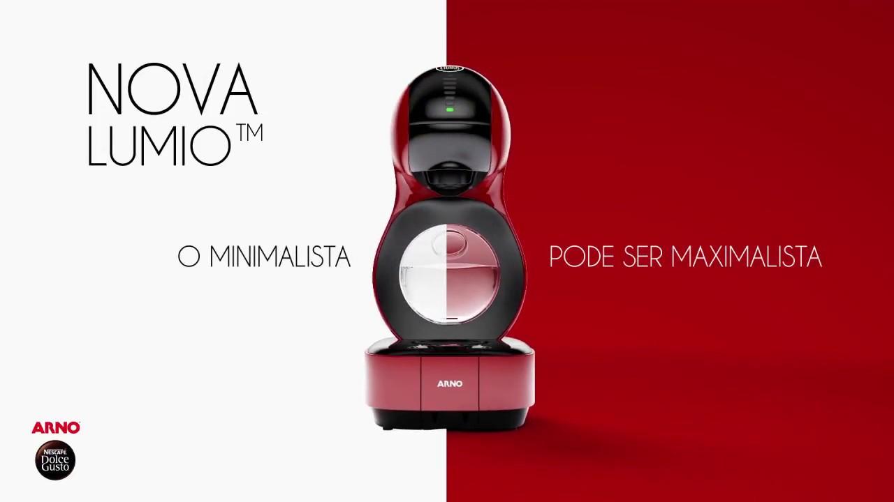 a0c03c16c Máquina de Café Arno Nescafé Dolce Gusto Lumio - YouTube