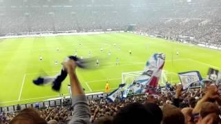 FC Schalke 04 gegen Borussia Mönchengladbach (Tor zum 2:0 und 3:0 + Stimmung danach)