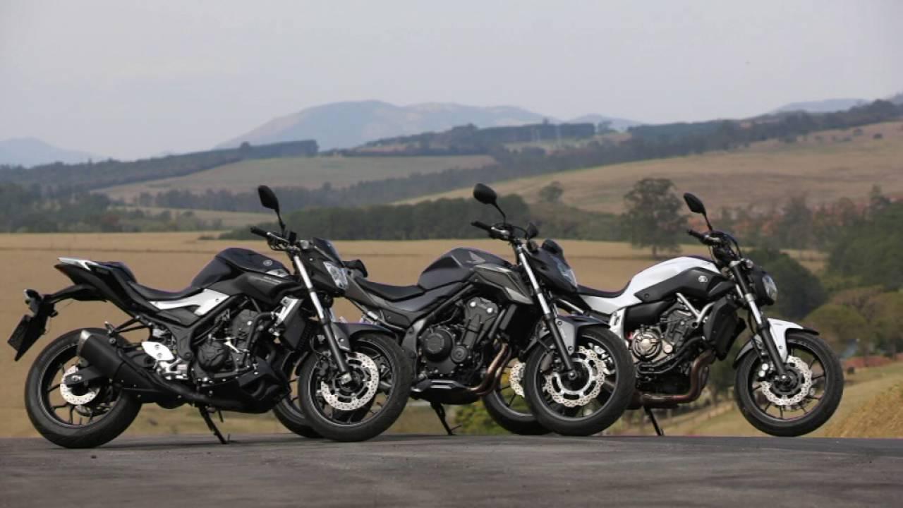 Comparativo Yamaha Mt 03 Honda Cb 500f E Yamaha Mt 07