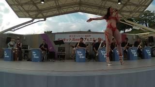 18年8月26日 群馬県太田市八王子公園にて行われた音楽祭に15出演...
