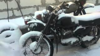 Как должен заводиться мотоцикл Минск