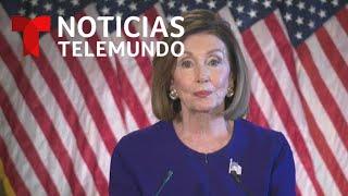 Nancy Pelosi formaliza el juicio político contra de Donald Trump   Noticias Telemundo