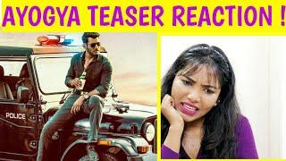 AYOGYA Official Teaser | Vishal, Raashi Khanna | Reaction