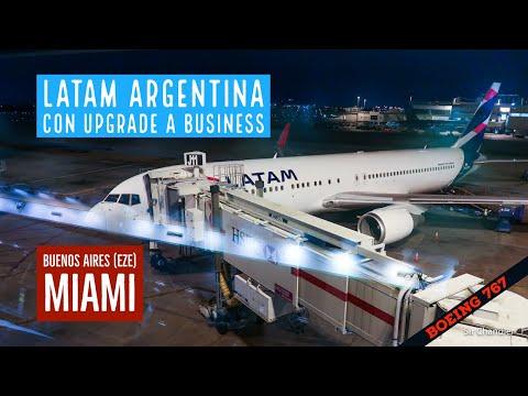Latam Argentina vuelo directo a Miami desde Buenos Aires - Boeing 767 - upgrade a business