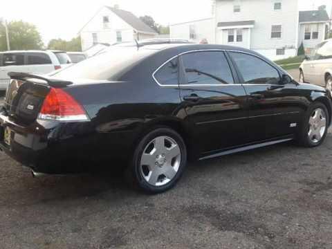 2009 Chevrolet Impala Ss >> 2009 Chevrolet Impala Ss Fully Loaded Black On Black 107k Nice Clean Carfax Akron Ohio