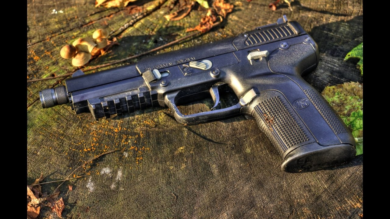 Efk Firedragon 1 2 Threaded Adapter Five Seven Review Youtube