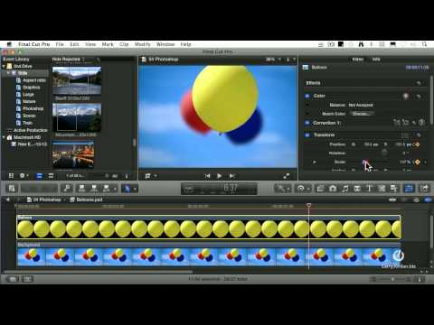 Using Photoshop In Final Cut
