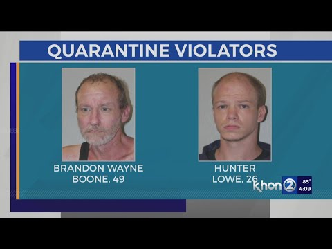 Louisiana men arrested at Honolulu airport after allegedly breaking COVID quarantine rules