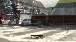 Black Ops 2 - Hydro - 6 Man Feed Waterfall Kill NEW REVOLUTION MAP PACK DLC!!!