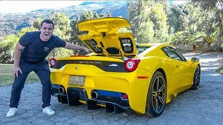 5 INSANE Features Of The Ferrari 458 Speciale Aperta