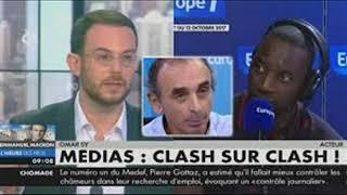 le grond clash ;eric zemmour et omar sy _16/02/2018