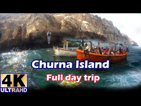 Churna Island Full Day Tour : #Karachi  #4K Ultra HD