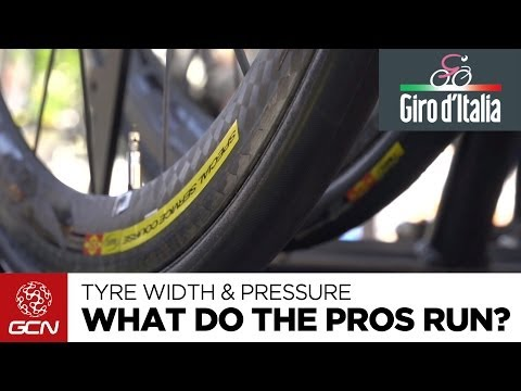 Tyre Width & Pressure - What Do The Pros Run? | Giro D'Italia 2014