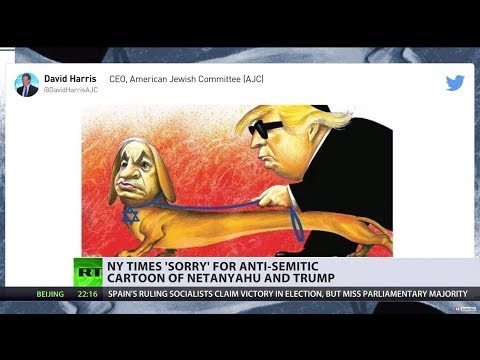 'Error of judgement': New York Times apologizes for 'anti-Semitic' cartoon