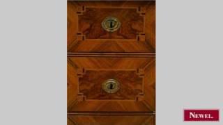 Antique Continental (possible Russian) Burl Walnut Veneer