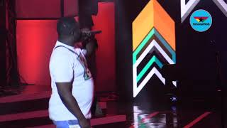 Wande Coal's performance at Ghana Meets Naija