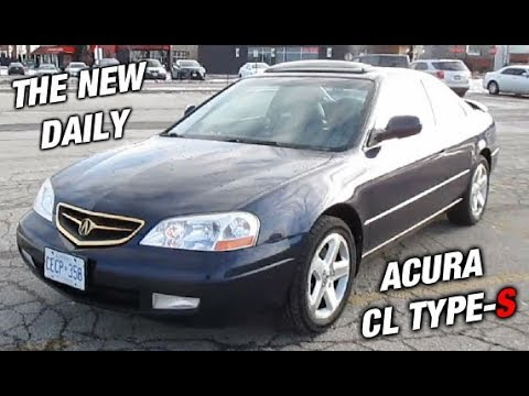 My New 2001 Acura CL Type S Daily