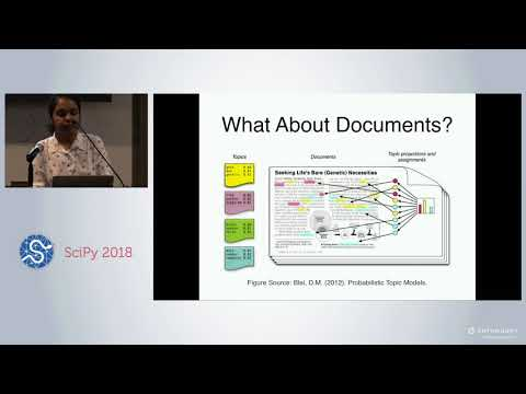 Information Extraction Using Topic Models | SciPy 2018