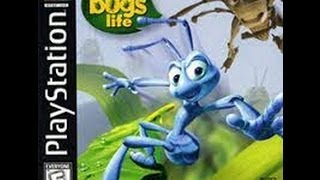 Ps1 game: A Bug's Life P2