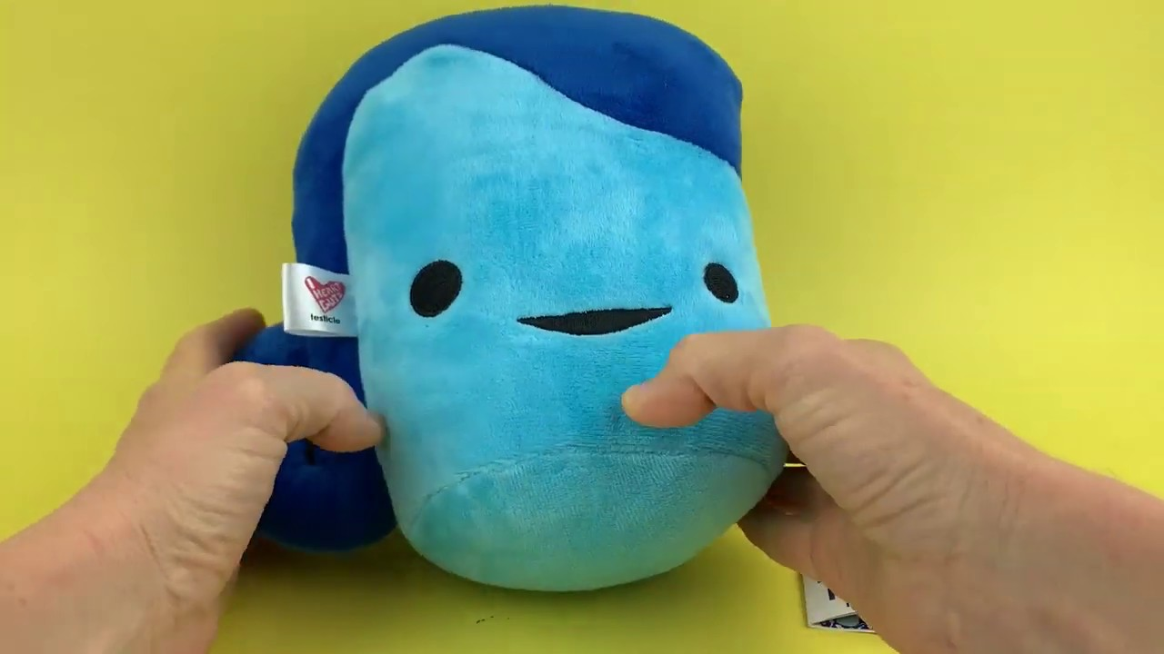 Having A Ball With The Testis Plush I Heart Guts Youtube