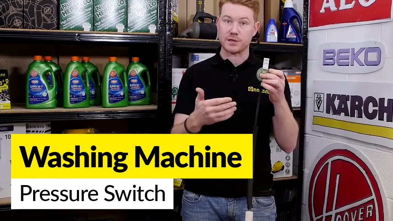 Diagnosing Washing Machine Pressure Switch Problems Youtube Hoover Dryer Wiring Diagram