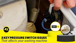 diagnosing washing machine pressure switch problems