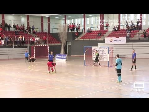DIRECTO: Fútbol Sala: FSD Puertollano - UMA Antequera. PlayOff Ascenso. Castilla - La Mancha Media.
