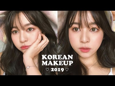 ✨KOREAN MAKEUP 2019 แต่งหน้าแบบเน็ตไอดอลเกาหลี ผิวโกลว ถ่ายรูปขึ้น ไม่โป๊ะ   Babyjingko thumbnail