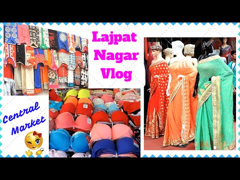 LAJPAT NAGAR VLOG (Travel with Me to Central Market) I Simi Bella